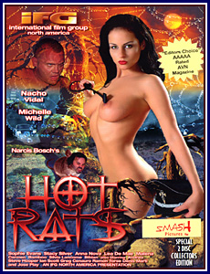 Hot Rats Porn DVD