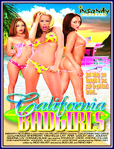 California Bad Girls Porn DVD