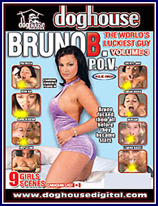 Bruno B World's Luckiest Guy 3 Porn DVD