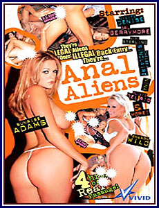Anal Aliens Porn DVD