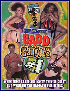 Badd Girls Porn DVD