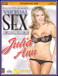 Virtual Sex with Julia Ann Porn DVD