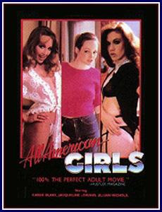 All American Girls Porn DVD