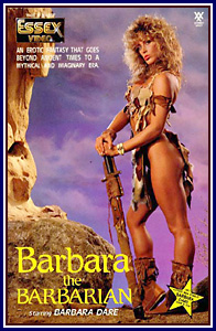 Barbara the Barbarian Porn DVD
