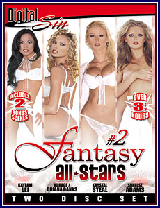 Fantasy All-Stars 2 Porn DVD