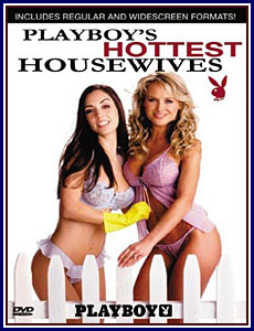 Playboy's Hottest Housewives Porn DVD