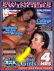 Real American Swingers Porn DVD