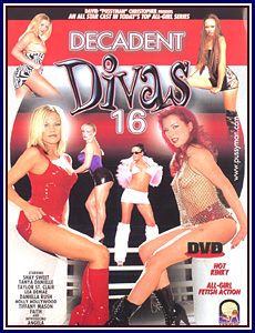 Decadent Divas 16 Porn DVD
