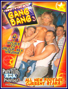 My First Gang Bang 3 Porn DVD
