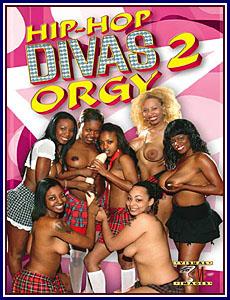 Hip-Hop Divas Orgy 2 Porn DVD