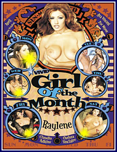 Vivid Girl Of The Month Raylene Porn DVD