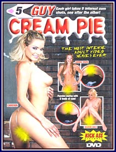 5 Guy Cream Pie Porn DVD
