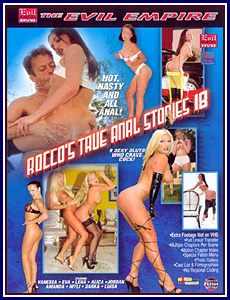 Rocco's True Anal Stories 18 Porn DVD