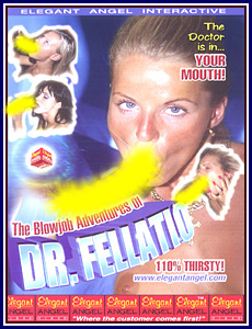 Blowjob Adventures of Dr Fellatio 40 Porn DVD