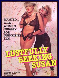 Lustfully Seeking Susan Porn DVD