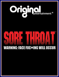 Sore Throat Porn DVD