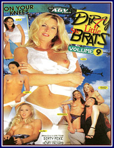 Dirty Little Sex Brats 9 Porn DVD