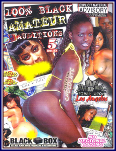 100% Black Amateur Auditions Porn DVD