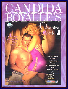 Candida Royalle's One Size Fits All Porn DVD