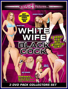 White Wife Black Cock 3 Pack Porn DVD