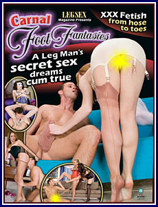 Leg Sex Carnal Foot Fantasies Porn DVD