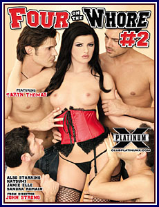 Four On The Whore 2 Porn DVD
