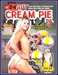 5 Guy Cream Pie 3 Porn DVD