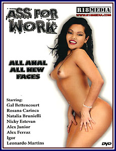 Ass For Work Porn DVD