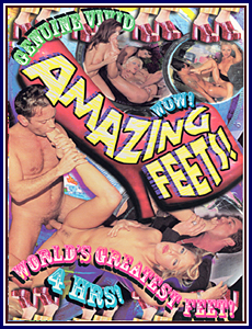 Amazing Feets Porn DVD