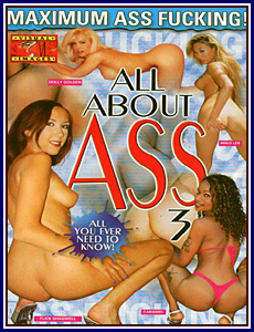 All About Ass 3 Porn DVD