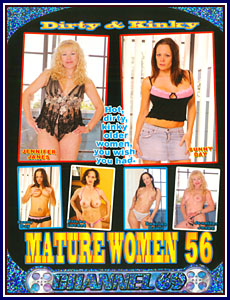Dirty and Kinky Mature Women 56 Porn DVD