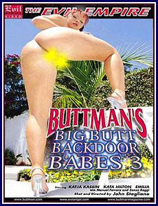 Buttman's Big Butt Backdoor Babes 3 Porn DVD
