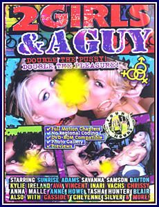 2 Girls and a Guy Porn DVD