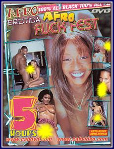 Afro Erotica Afro Fuck Fest Porn DVD