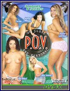 POV Up Close and Personal Porn DVD