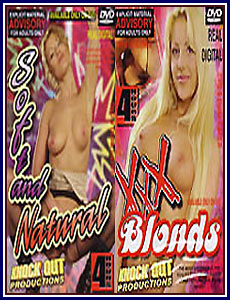 Soft and Natural - XXX Blonds Porn DVD