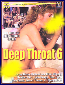 Deep Throat 6 Porn DVD