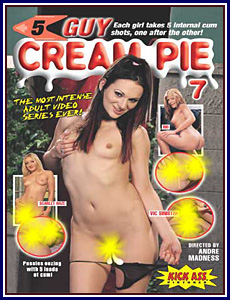 5 Guy Cream Pie 7 Porn DVD
