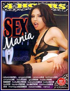 Sex Mania Porn DVD