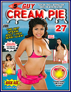 5 Guy Cream Pie 27 Porn DVD
