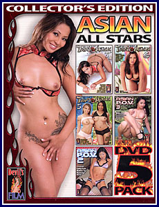 Asian All Stars (5-Pack) Porn DVD