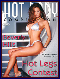 Hot Body Competition Beverly Hills Hot Legs Contest Porn DVD