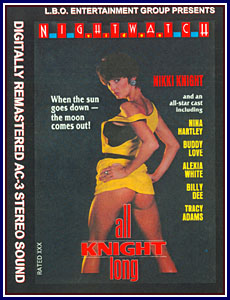 All Knight Long Porn DVD