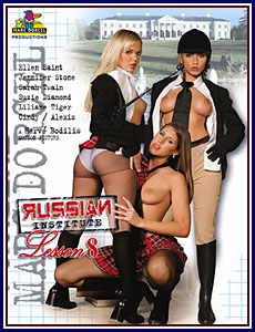 Russian Institute Lesson 8 Porn DVD