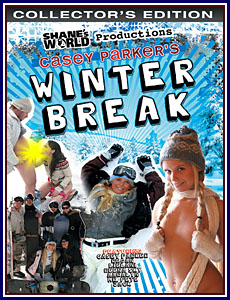Casey Parker's Winter Break Porn DVD