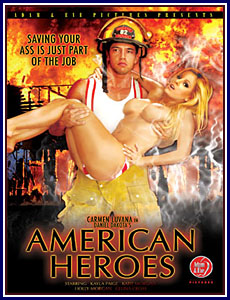 American Heroes Porn DVD