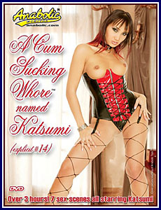 A Cum Sucking Whore Named Katsumi Porn DVD