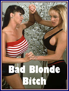 Bad Blonde Bitch Porn DVD