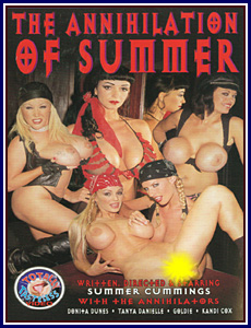 Annihilation of Summer Porn DVD