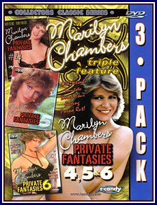 Marilyn Chambers' Private Fantasies 3 Pack 2 Porn DVD